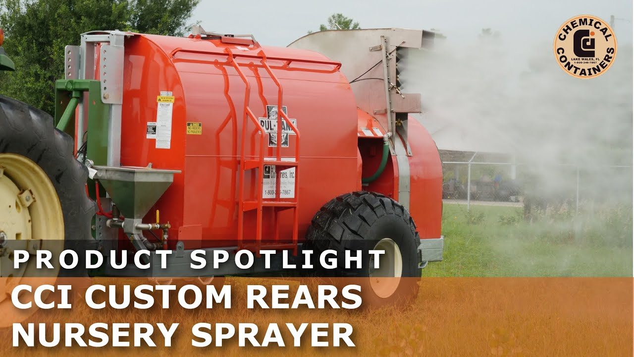 Download Product Spotlight - CCI Custom Rears Nursery Sprayer