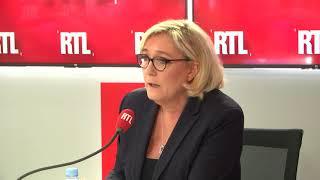 """Marine Le Pen sur RTL : """"Emmanuel Macron, c'est Nicolas Sarkozy en pire"""""""