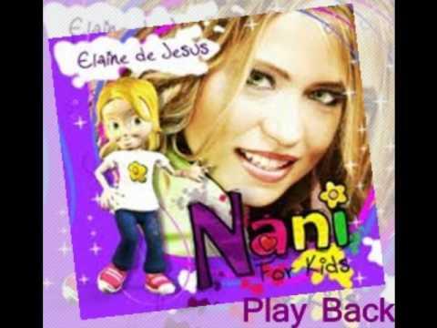 PLAYBACK Elaine de Jesus-Ginastica de Deus I Cd: Nani For Kids