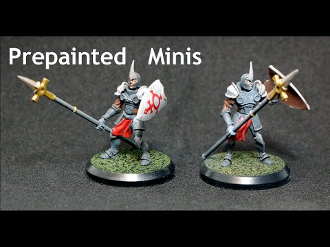 Inexpensive Prepainted Miniatures for D&D - Confrontation Minis