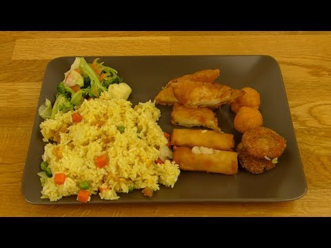 Lemongrass Buffet - Asia Buffet Plate / Teller