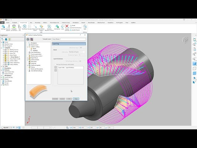Additive Manufacturing - PowerMill 2019