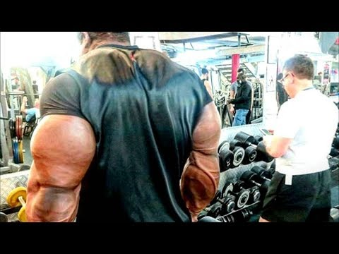 Real Life Giant Bodybuilder from Venezuela - Mass Monster in