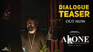 Alone Dialogue Teaser   Mohanlal   Shaji Kailas   Antony Perumbavoor   Aashirvad Cinemas