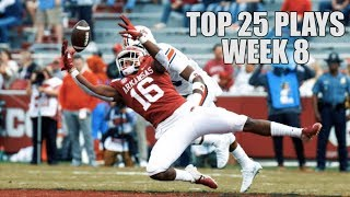 Top 25 Plays From Week 8 Of The 2019 College Football Season ᴴᴰ