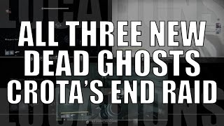 3 New Dead Ghost Locations in Crota