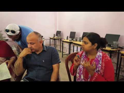 Must Watch: School Visit Of Edu Minister Manish Sisodia.