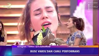 2. Sayfa: Buse Varol'dan canlı yayında Yıldız Tilbe şarkısı!