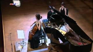 Jankovic - Lecic: Beethoven Cello Sonata No.5 in D major, Op.102, No.2 (Mov 1)