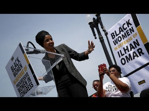 black-women-rally-in-defense-of-rep.-ilhan-omar