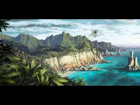 "Salsa Invertebraxa ""Landscape II""- HD Time-Lapse (Painting in progress)"