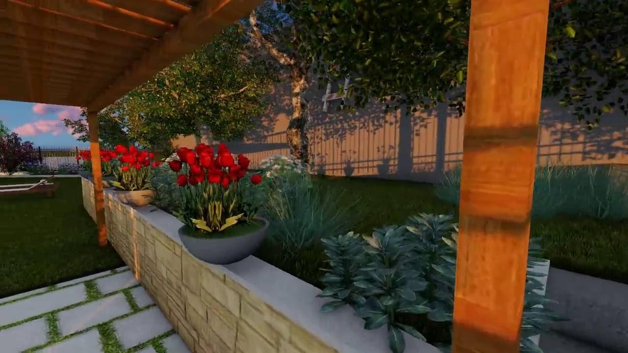 Progettazione giardino online progettare spazi verdi for Rendering giardino