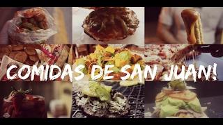 Comidas de San Juan!