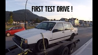 TURBO MANUAL VOLVO 740 TEST DRIVE AND OVERVIEW ! thumbnail
