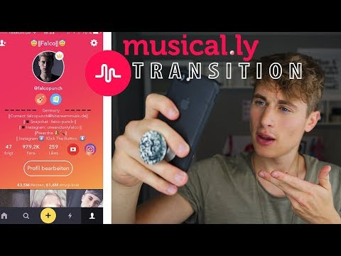 Musical.ly Transition Tutorial |#2 | Germany | FalcoPunch