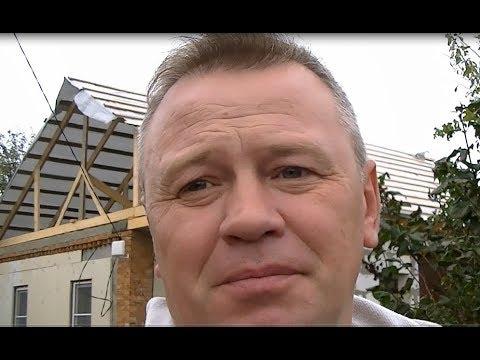 Переделываем очередную крышу и косяки строителей.
