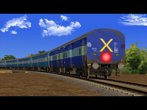 WDG4D HAULED TRAIN WITH HEAVY TRAIN TRAFFIC AT AKOLA IN TRAIN SIMULATOR 2021 |