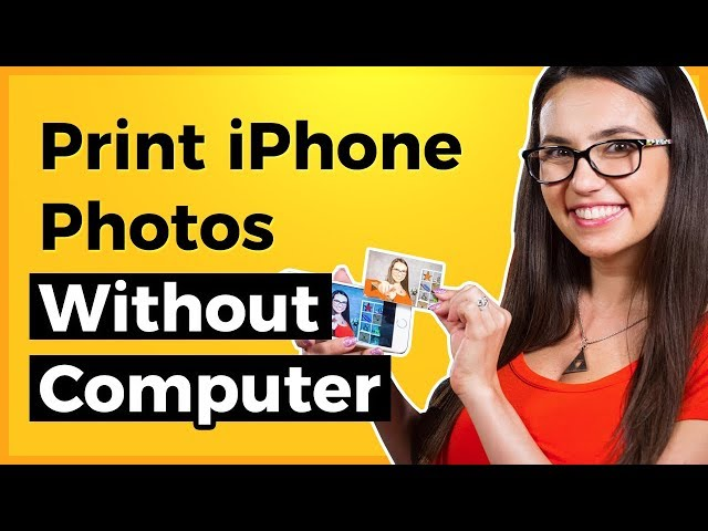 How to Print Photos from iPhone Without Computer | Print from Phone | Tech Zaada