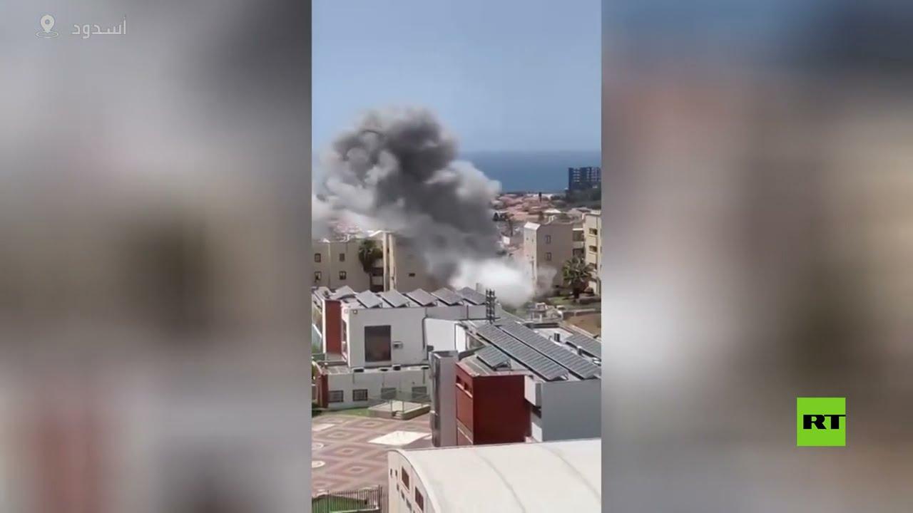 إصابات مباشرة في مباني أسدود وعسقلان  - نشر قبل 10 ساعة