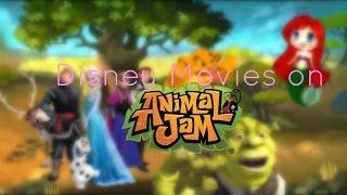Disney Movies on Animal Jam!