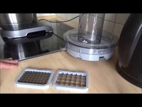 Bosch MUM 5 Würfelschneider Update Klinge 13x13 deutsch - YouTube