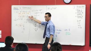 Zeroes & Coefficients (5 of 5: Obtaining more complicated results)