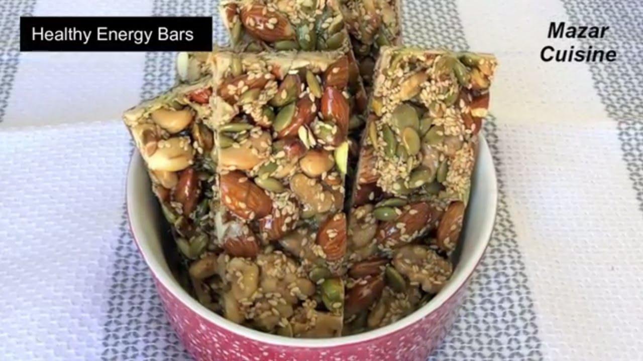 Energy Bars Recipe Healthy Snack