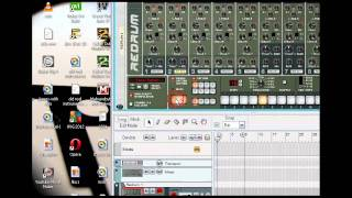 Electro house Tutorial-Drum Beat  [Reason 5]