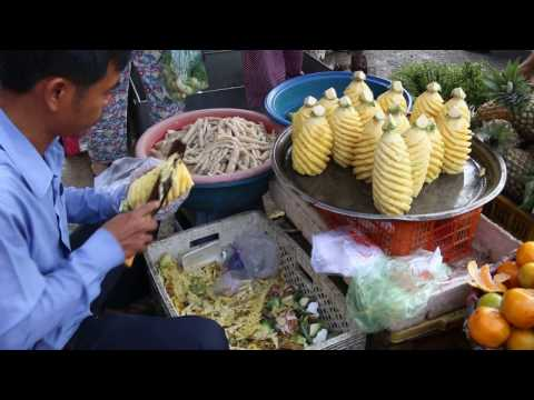 My Travel Around Cambodian Market, Daily Life In the Market, Market Activities In My Village