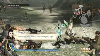 DYNASTY WARRIORS 7 ENGLISH GAMEPLAY (GDC FOOTAGE)