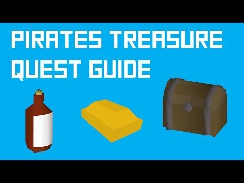 OSRS Pirates Treasure Quest Guide