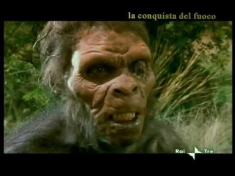 4  L'homo erectus scopre il fuoco