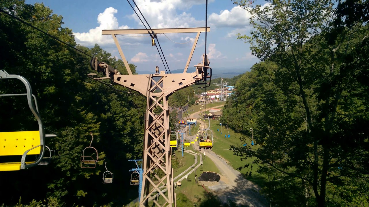 Chair Lift Ride To Ober Gatlinburg