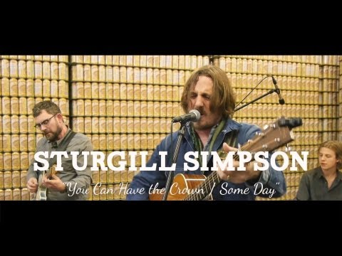 """Sturgill Simpson - """"You Can Have The Crown / Some Days"""" (Live at Sun King Brewery)"""