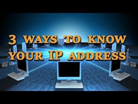 What is my IP? How to find your IP Address - tutorial by TechyV