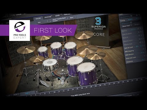 Exclusive First Look - Toontrack Superior Drummer 3 New Features