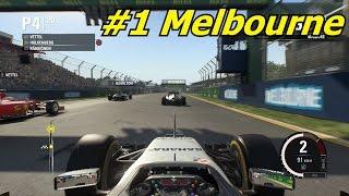 F1 2015 Modalità Carriera ep.1 - Melbourne [Gameplay ITA]