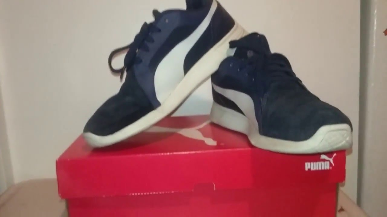 37c671e7330 UNBOXING - PUMA ST Trainer Evo SD   ON FOOT - YouTube