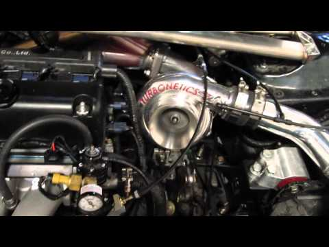 Bisimoto tuning of stock sleeved turbo K20a, 499whp