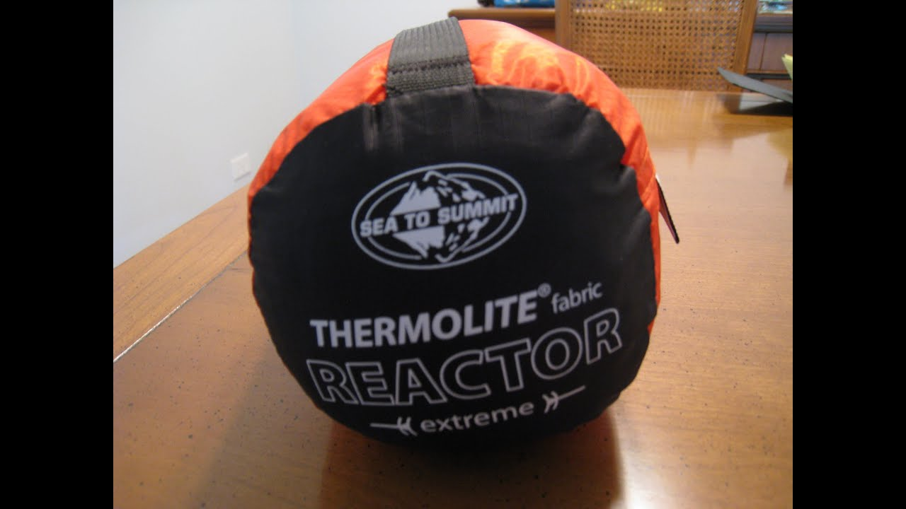 Sea To Summit Reactor Extreme Mummy Bag Liner