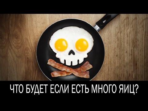 Что будет если есть много яиц