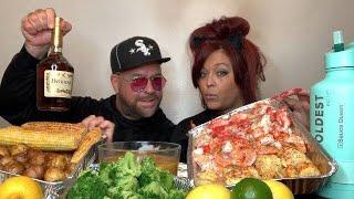 Seafood Throw-down With Big Daddy!! We Lost 30 Mins Of Footage.. :-(  💋