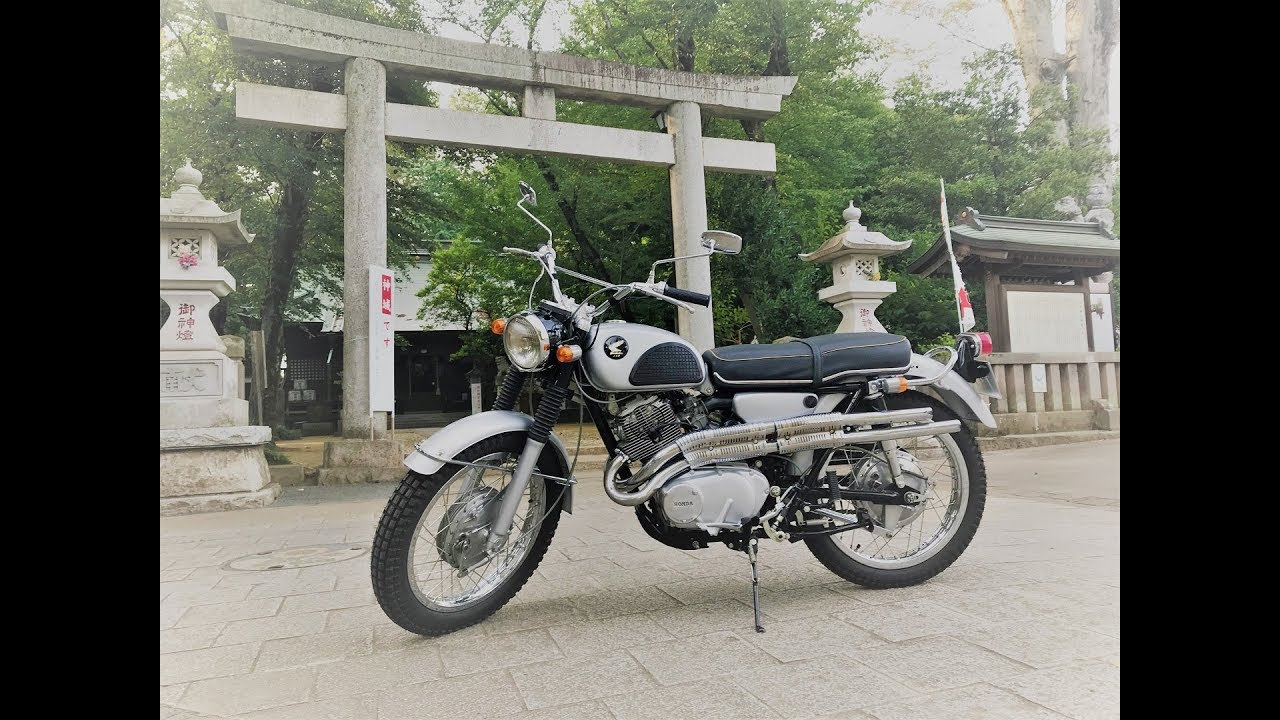 Cl72 Bike Restore Honda Youtube Wiring