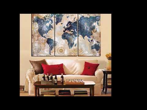 3 Panel Vintage World Map Canvas Wall Art Large Map Of The World Framed on world map flooring, world map wall mural, world map lanterns, world map dining room, world map stationery, world map decorative box, world map wall office, world map pillows, world map comforter set, world map bookends, world map rings, world map games, world map wall decal, world map wall cling, world map vases, world map mirrors, world map wall paint, world map vintage, world map floral, world map apparel,