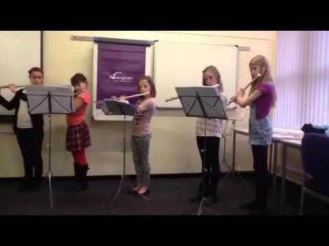 Half Term Holiday Flutes 2014