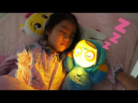 잠잘때 무서우면 수면인형이 있어요!! 서은이의 뽀로로 수면인형 자장가 조명 양치 귀신 Pororo Sleeping Doll Toys