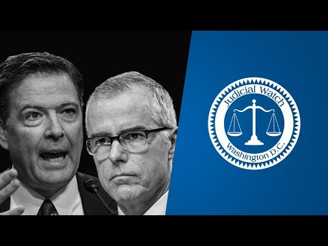 JW Pres. Tom Fitton-Legal Trouble for Comey/McCabe? Comey Memos Blowback-Lawsuit on Comey Book Docs