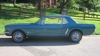 65 Mustang Cold Start Re-Awakening After 25 Years!
