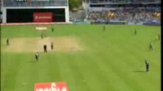 Chris Gayle's powerful hitting, 3rd ODI WI vs ENG 2009.