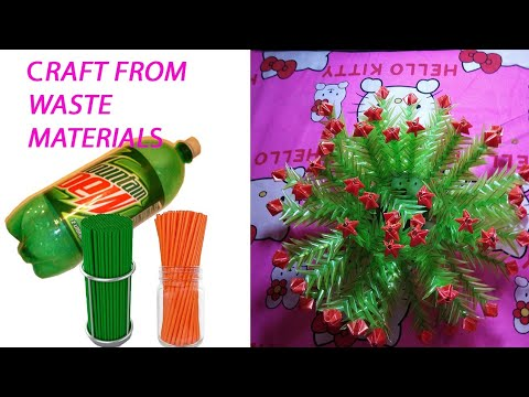 Craft Ideas From Waste Materials